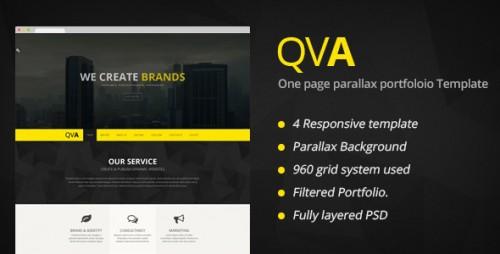 QVA - One Page Multi-purpose WordPress Theme