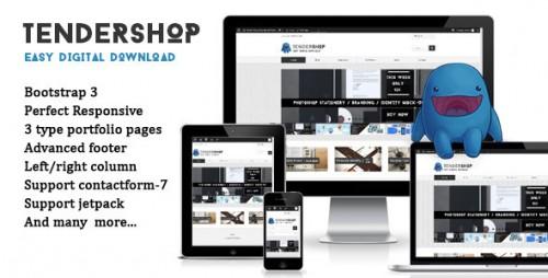 Tendershop Responsive Easy Digital Theme