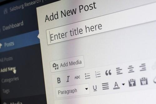 WordPress to Power Small Business Website