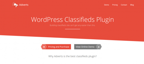 Adverts WordPress Classifieds Plugin