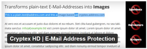 Cryptex HD - E-Mail Address Protection