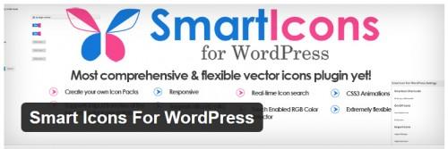 Smart Icons For WordPress