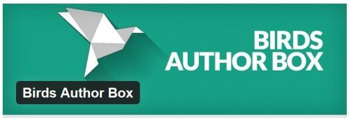 Birds Author Box