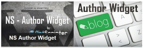 NS Author Widget