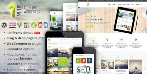 All In One - Multipurpose WooCommerce Theme