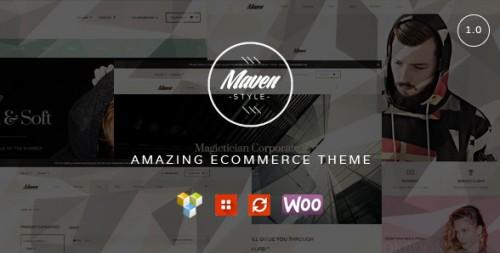 Maven WordPress WooCommerce Theme