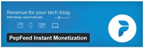PepFeed Instant Monetization