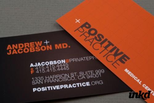 Medical Center Business Card