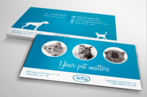 Veterinary Medical Business Card