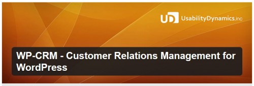 WP-CRM - Customer Relations Management