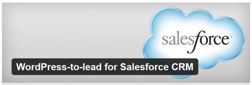 WordPress To Lead for Salesforce CRM