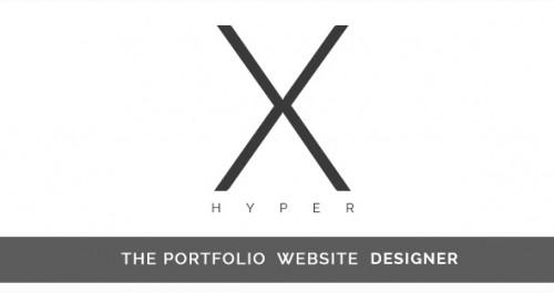 Hyper-X The Portfolio Website Designer