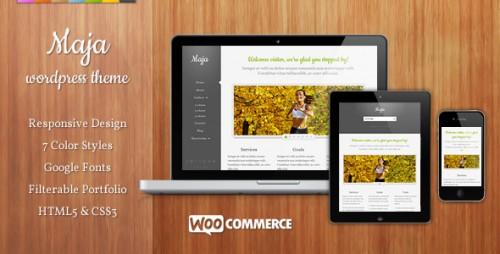 Maja - Responsive WordPress Theme
