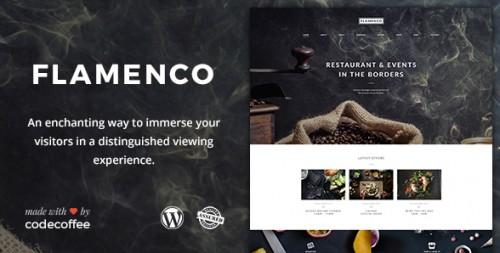 Flamenco - Restaurant and Bar WordPress Theme