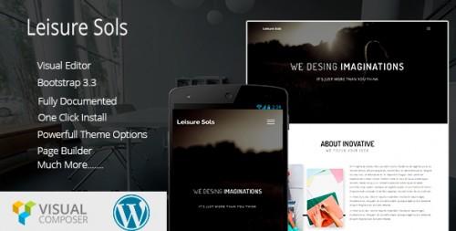 Leisure Sols Corporate Business WordPress Theme