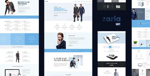 Zaria - Business Consulting WordPress Theme