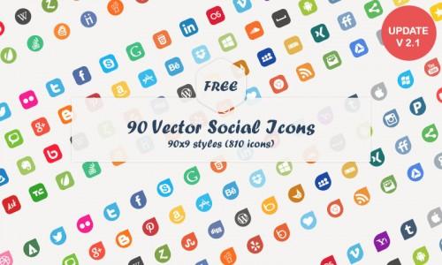 Best Social Media Vector Icons