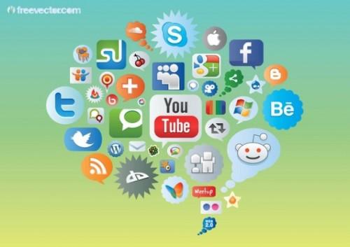 Amazing Social Media Icon Set