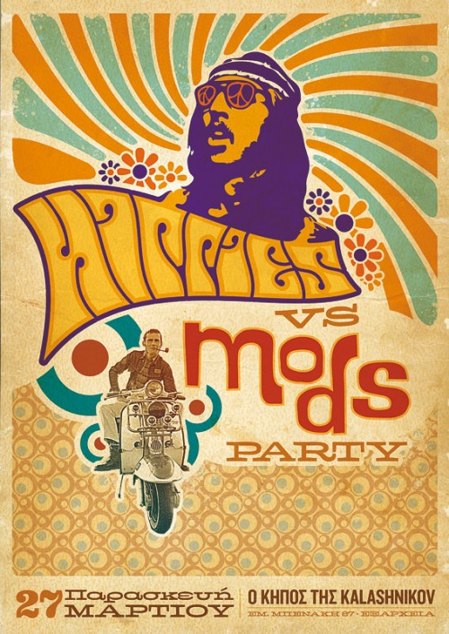 Hippies vs Mods Party