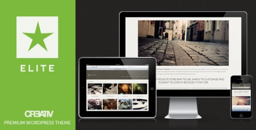 Elite Premium WordPress Theme