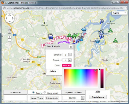 Google Maps GPX Viewer