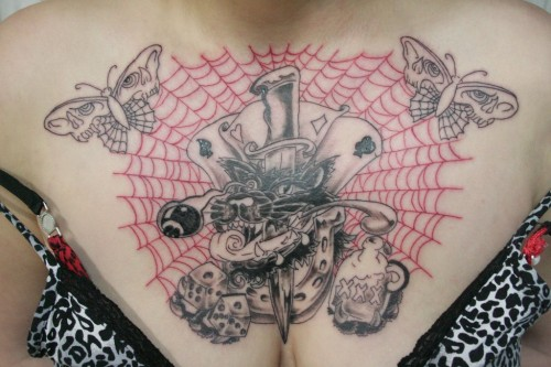 Hot Spider Web Tattoo Trend