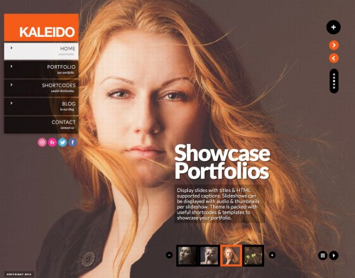 Kaleido Fullscreen Studio for WordPress