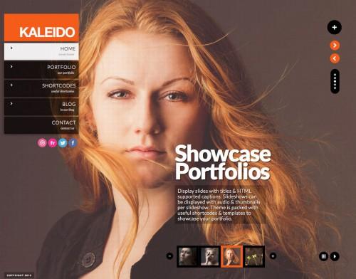Kaleido Fullscreen Studio for WordPress