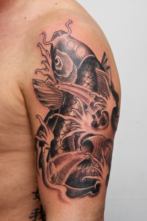 Koi Fish Tattoo Fashion for 2013