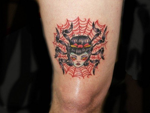 Spider Woman Tattoo