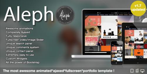 Aleph – Portfolio for Agencies and Freelancers