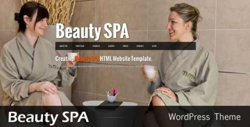 Beauty SPA - Ajaxified WordPress Theme