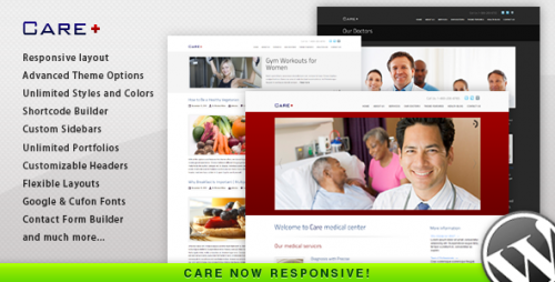 Care - Medical and Health Theme