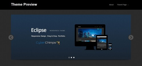 Eclipse Responsive WP Theme
