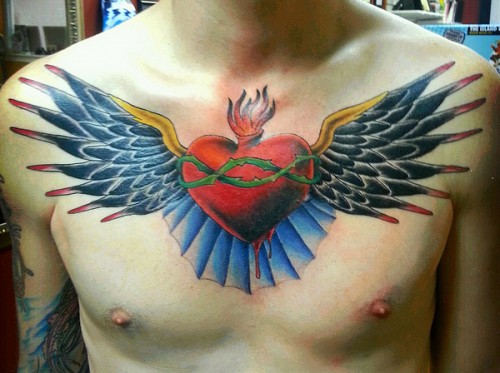 Finished Chest Piece