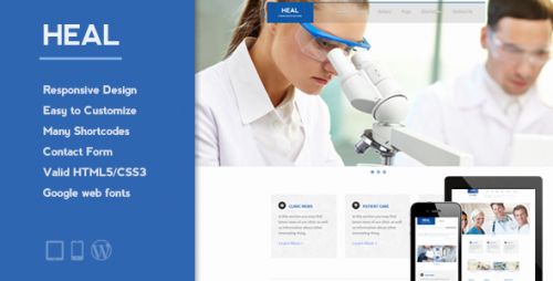 HEAL - Responsive Medical WP Theme