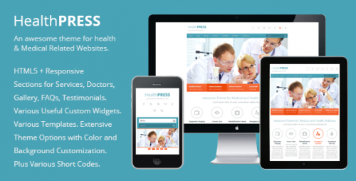 HealthPress - Medical WP Theme