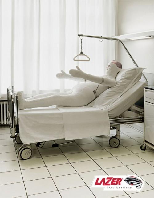 Lazer Cycle Helmets: Hospital