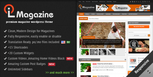 LioMagazine - Premium WordPress Magazine