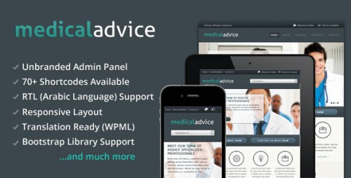 Medical Advice - Responsive WP Theme