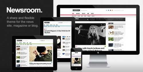 Newsroom - Responsive Magazine Theme