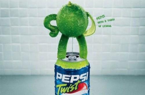 Pepsi: Lemon Twist