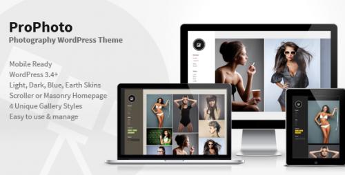 PhotoPro – Photography WordPress Theme