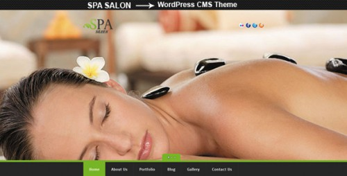 SPA SALON - WordPress CMS Theme