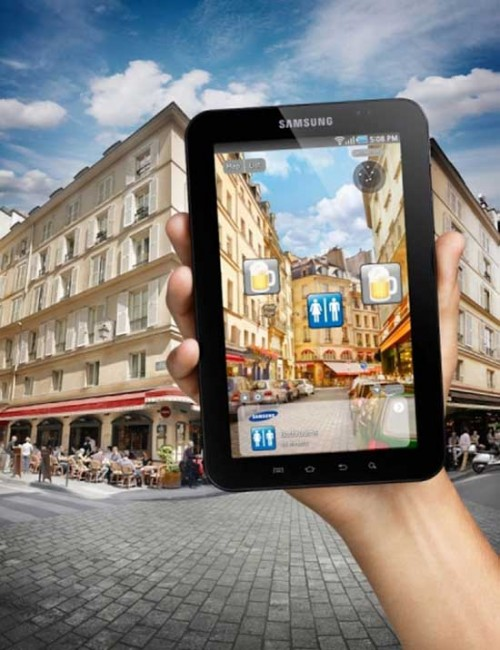 Samsung Galaxy Tab Cafe
