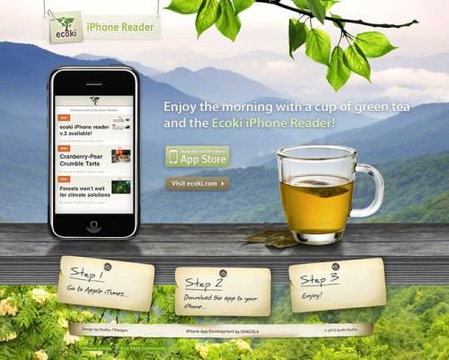 The Ecoki iPhone Reader App