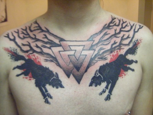 Valknut Chest Piece
