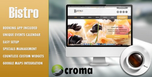 Bistro - Responsive Foodie App-theme