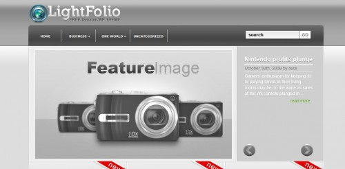 Light Folio Theme