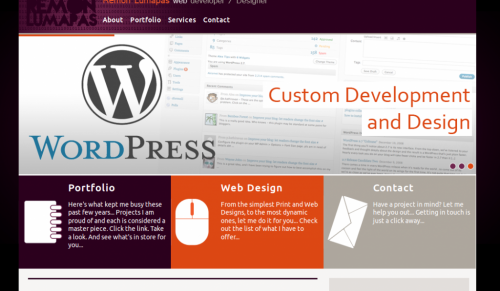 Create WordPress Landing Page Template